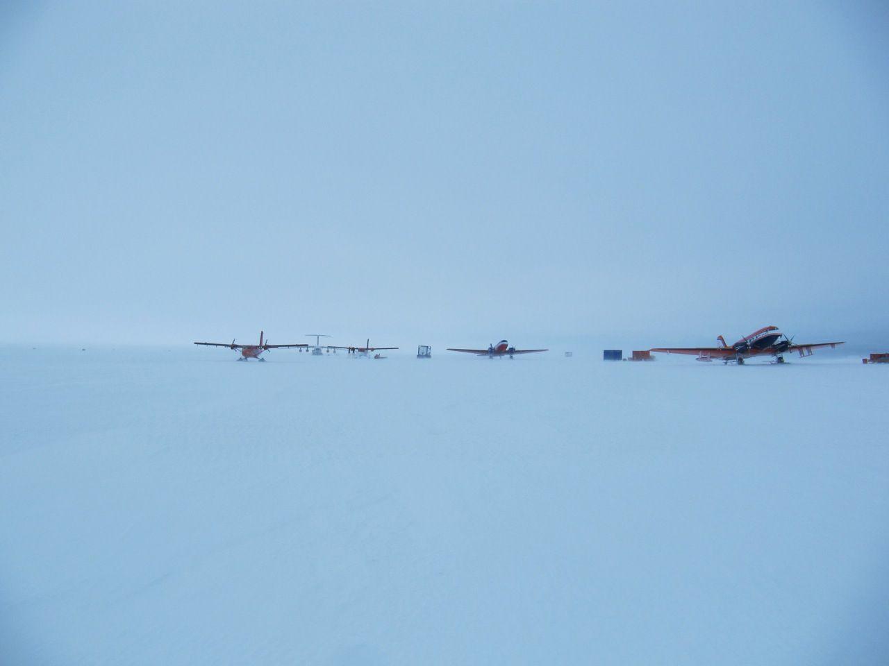 Novo Runway Novolazarevskaya Base Antarctica RI1ANR DX News