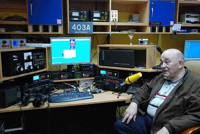 ON4UN 4O3A Contest Station