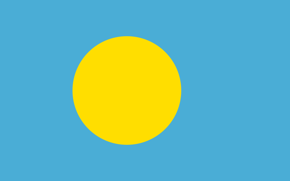 Palau Flag of Palau