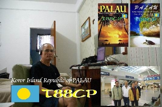 Остров Корор Республика Палау T88CP QSL