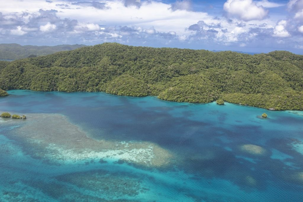 Palau T88WI T88WH Tourist Attractions