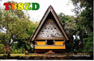 Palau T88ZD Koror Island QSL