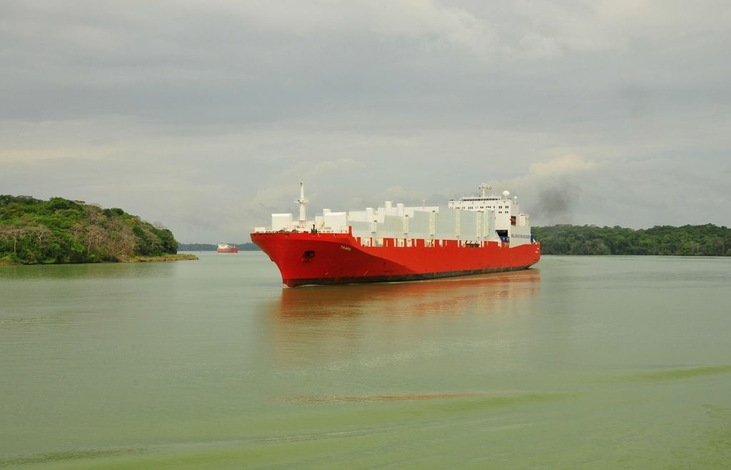 Панама 3E100PC Панамский канал