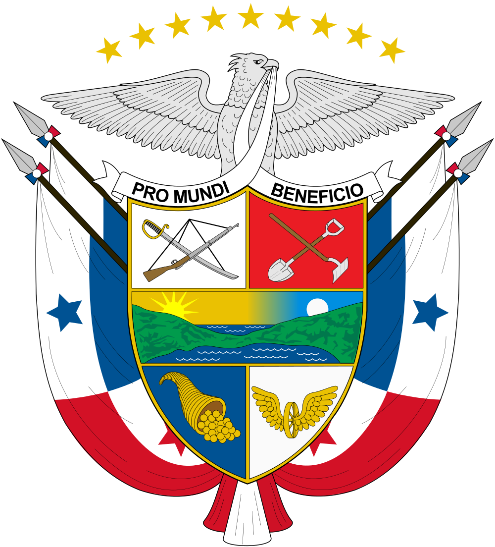 Panama Coat of Arms of Panama