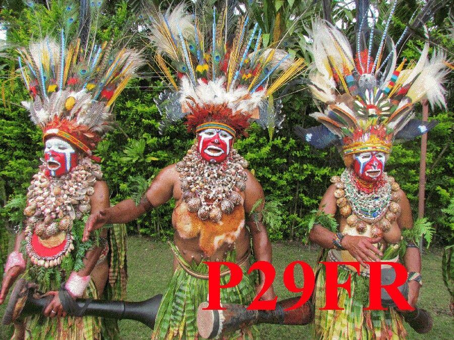 Papua New Guinea P29FR QSL