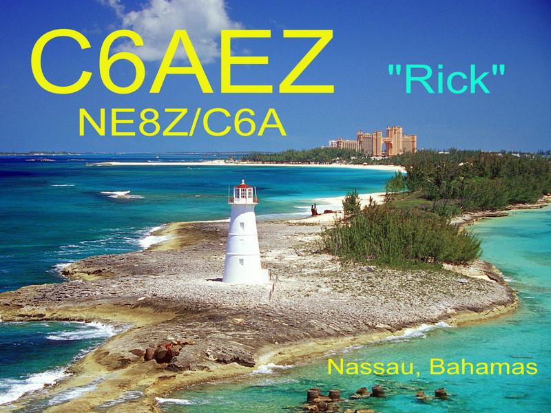 Остров Парадайз Багамы C6AEZ