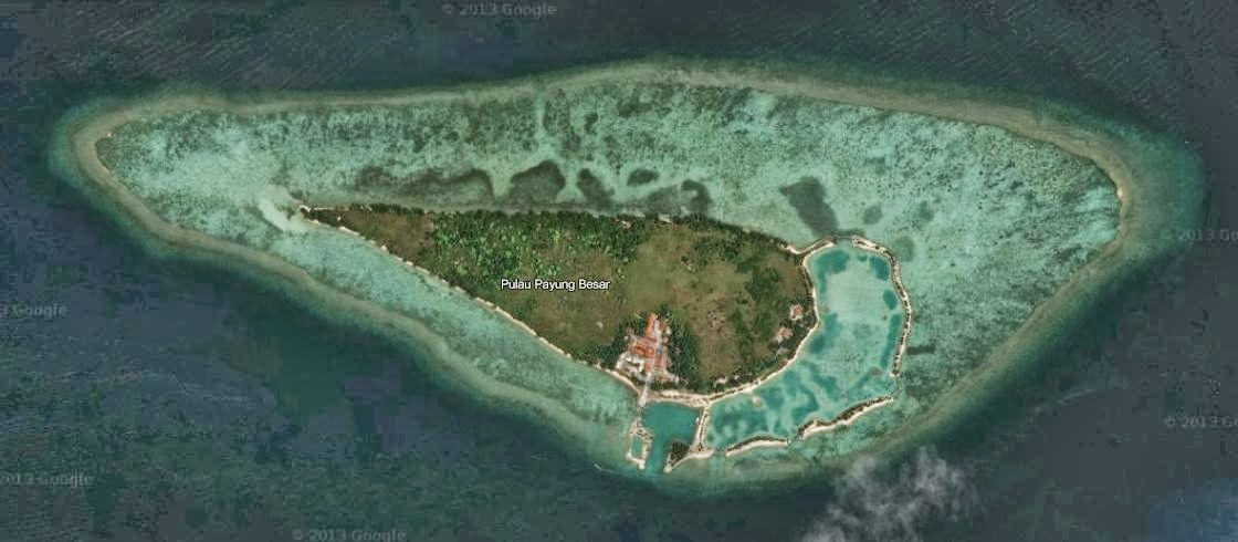Payung Besar Island YF1AR/0
