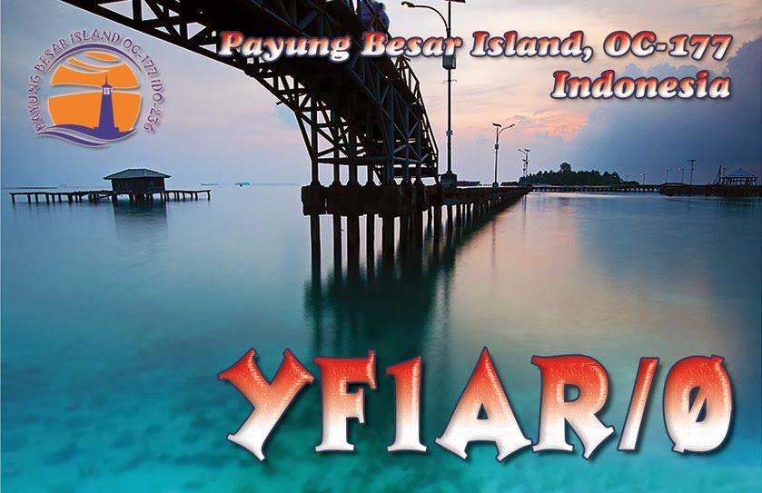 Payung Besar Island YF1AR/0 QSL
