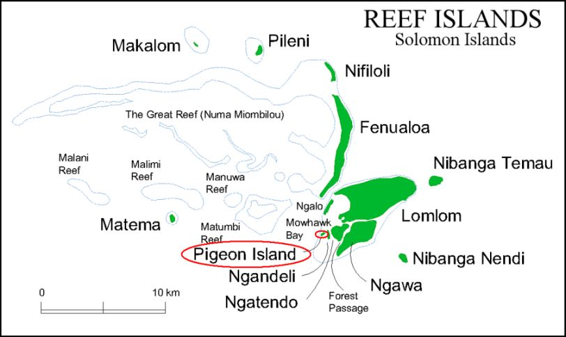 Pigeon Island Reef Islands