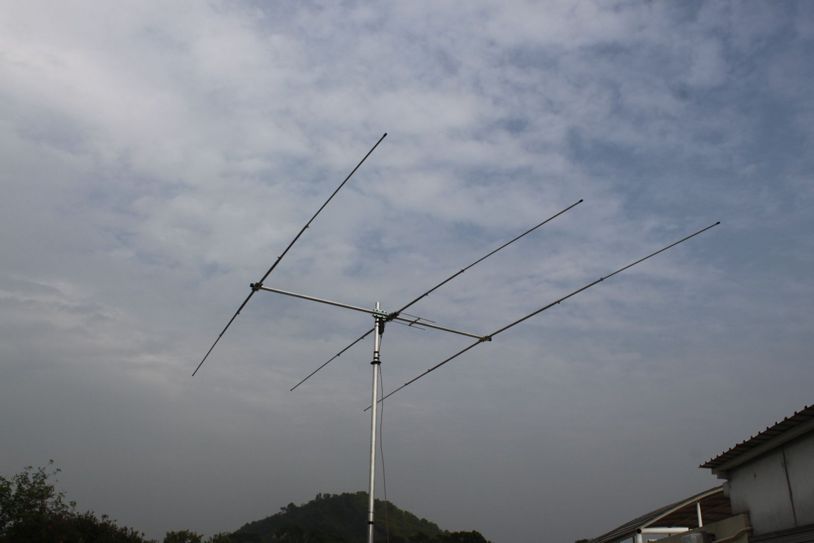 Peng Chau Island VR2/IV3TAN Antenna