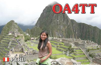 Перу OA4TT OA4/K6ZH OA4/N7CW