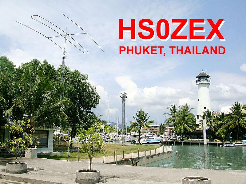 Phuket Island HS0ZEX Boat Lagoon