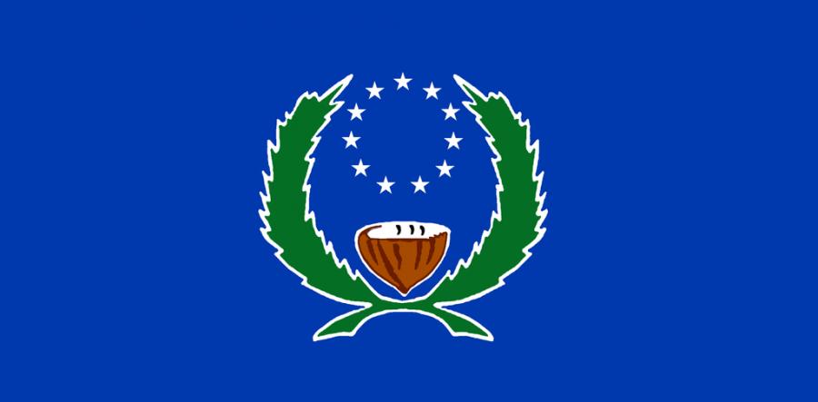 Pohnpei Island Flag of Pohnpei V650XG