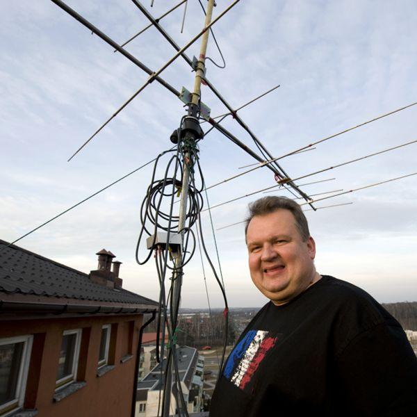Poland SP7VC Lodz VHF Antennas