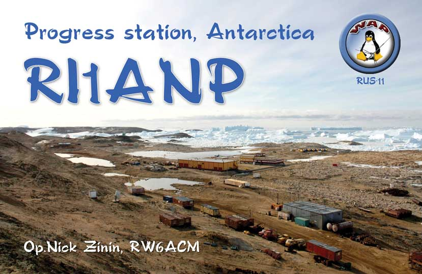 Progress Station Antarctica RI1ANP