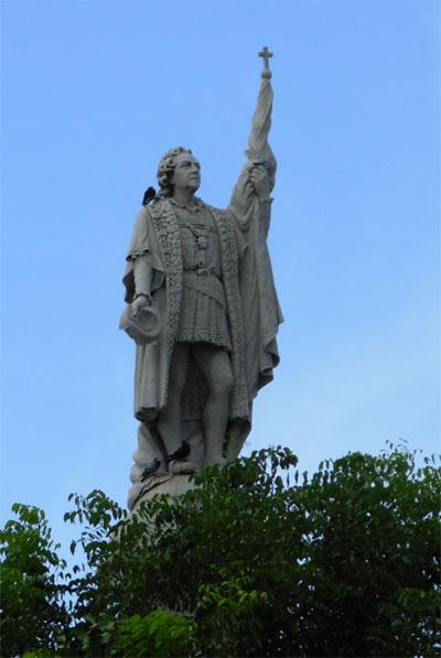 Пуэрто Рико WP3C Памятник Христофору Колумбу