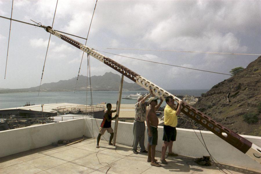 Pulu D44AC Mindelo Cabo Verde Cape Verde Nevi SM0TQX EA5CPU