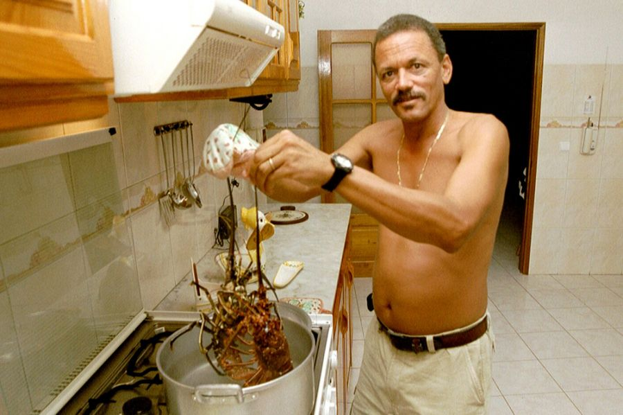 Pulu D44AC 2001 Local Lobster Mindelo Cabo Verde Cape Verde