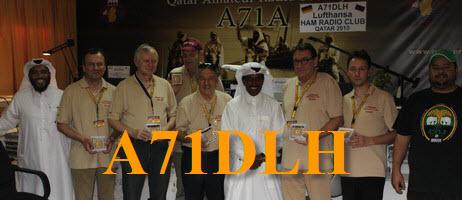 Катар A71DLH Lufthansa Amateur Radio Club Qatar Amateur Radio Society