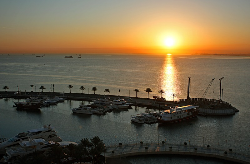 Qatar A73A Persion Gulf