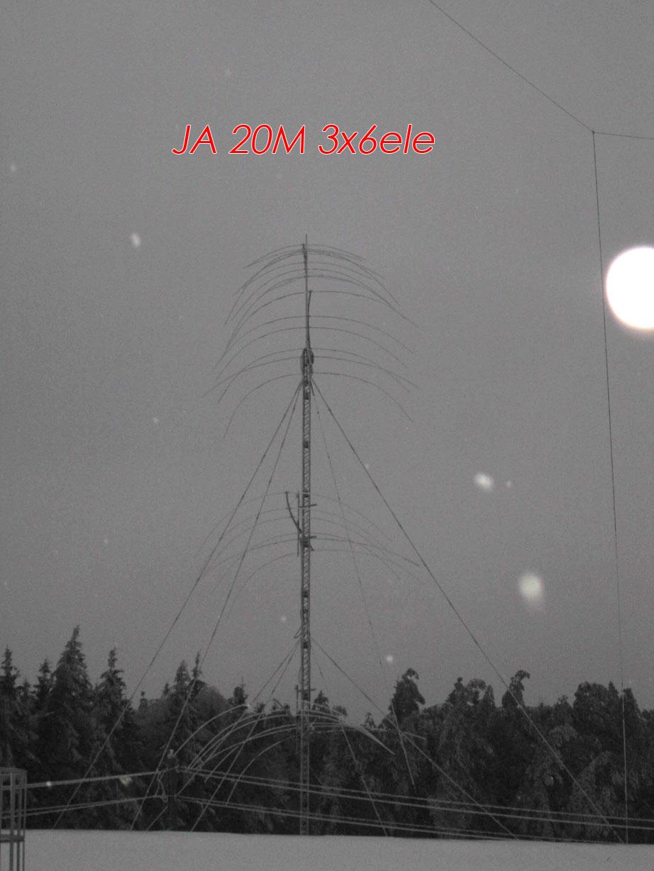RD3A 20m yagi antennas