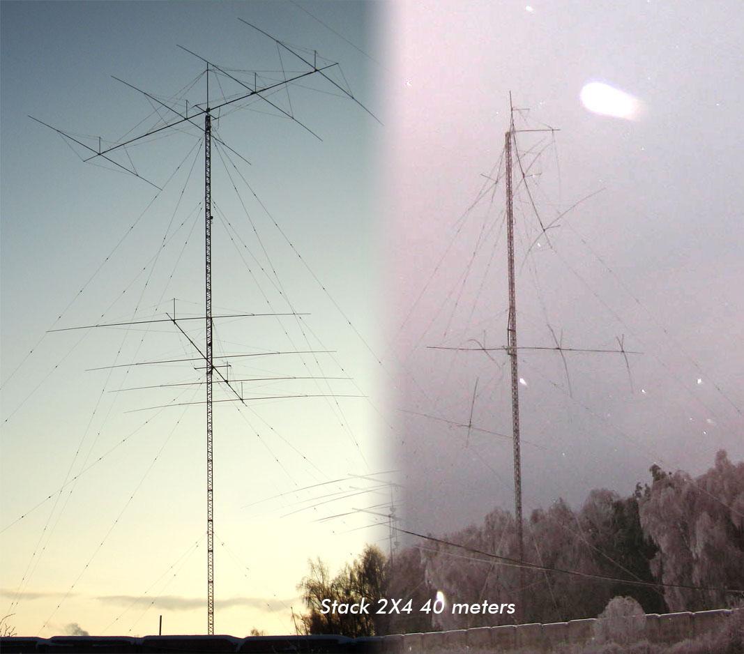 RD3A Антенна яги на 40 метров
