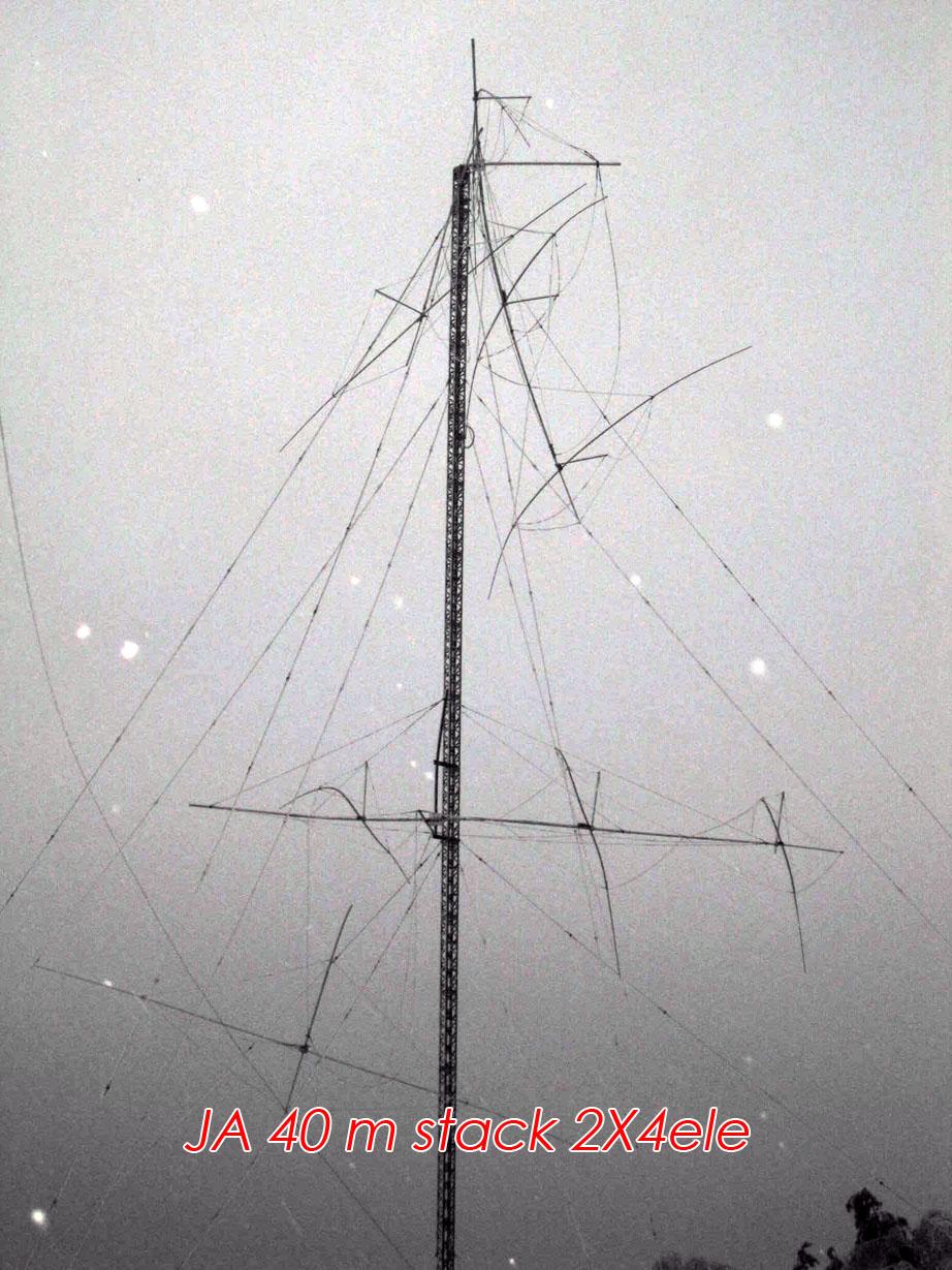 RD3A 40m yagi antennas