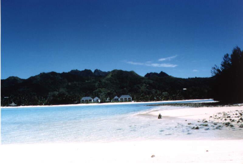 Raratonga Island Cook Islands E51CG