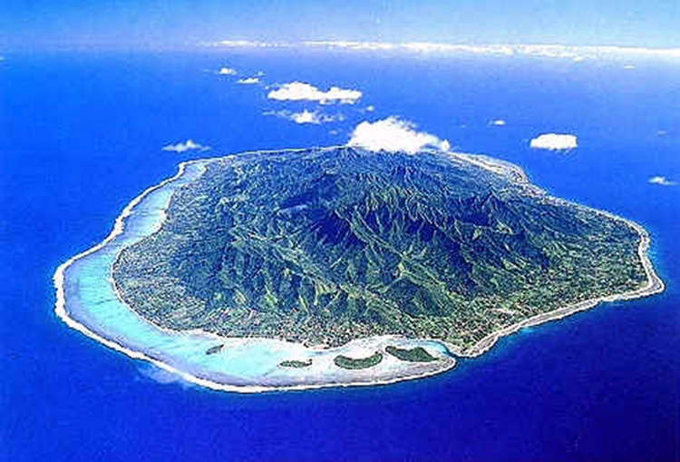 Rarotonga Island South Cook Islands E51NOU