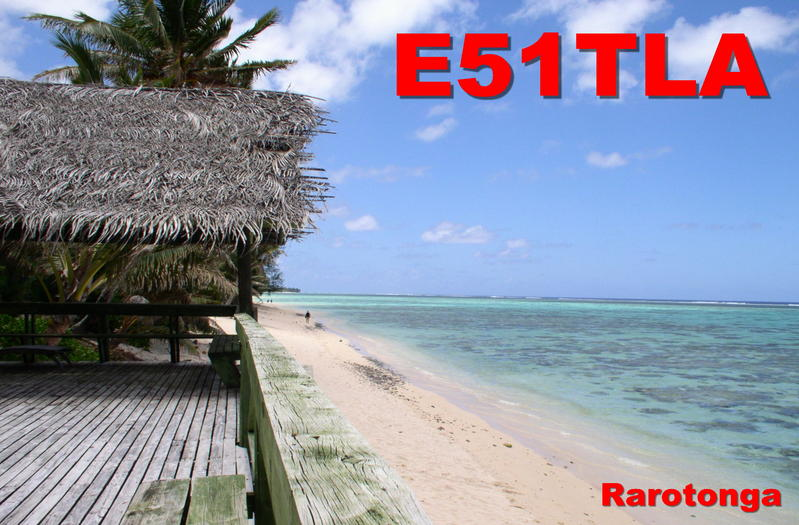Остров Раротонга  E51TLA Острова Кука