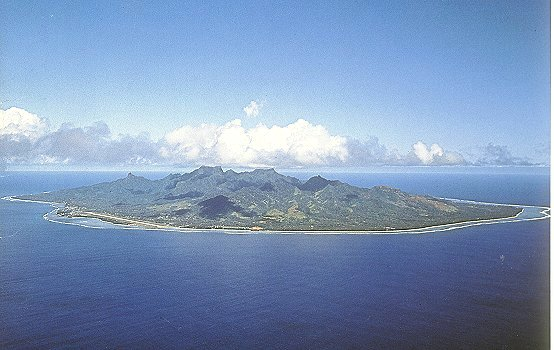 Rarotonga Island South Cook Islands E51KJD