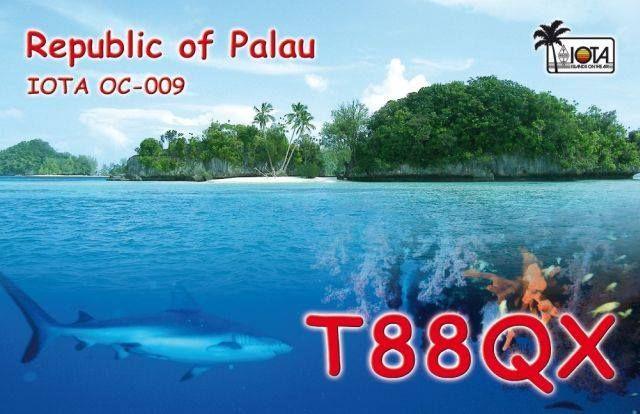 Палау T88QX QSL