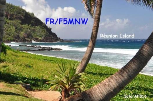 Остров Реюньон FR/F5MNW