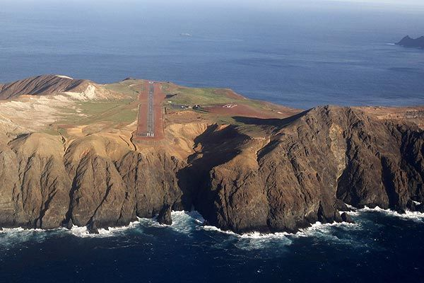 Robinson Crusoe Island Juan Fernandez Islands CE0ZOL Airport