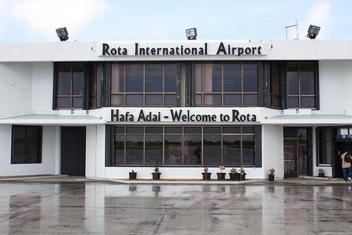 Остров Рота KH0PR Аэропорт Марианские Острова