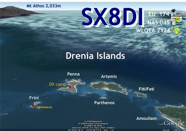Drenia Islands SX8DI Expedition