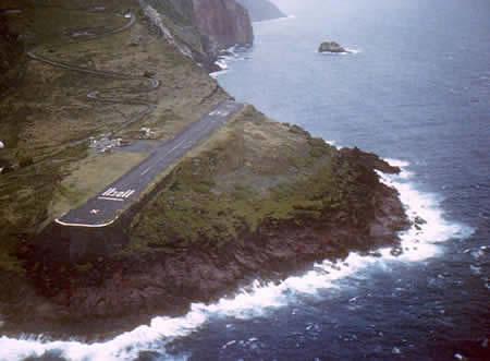 Остров Саба PJ6/N4HH Аэропорт