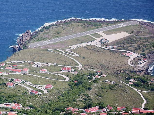 Остров Саба PJ6/G4IUF 2012 Аэропорт DX Новости