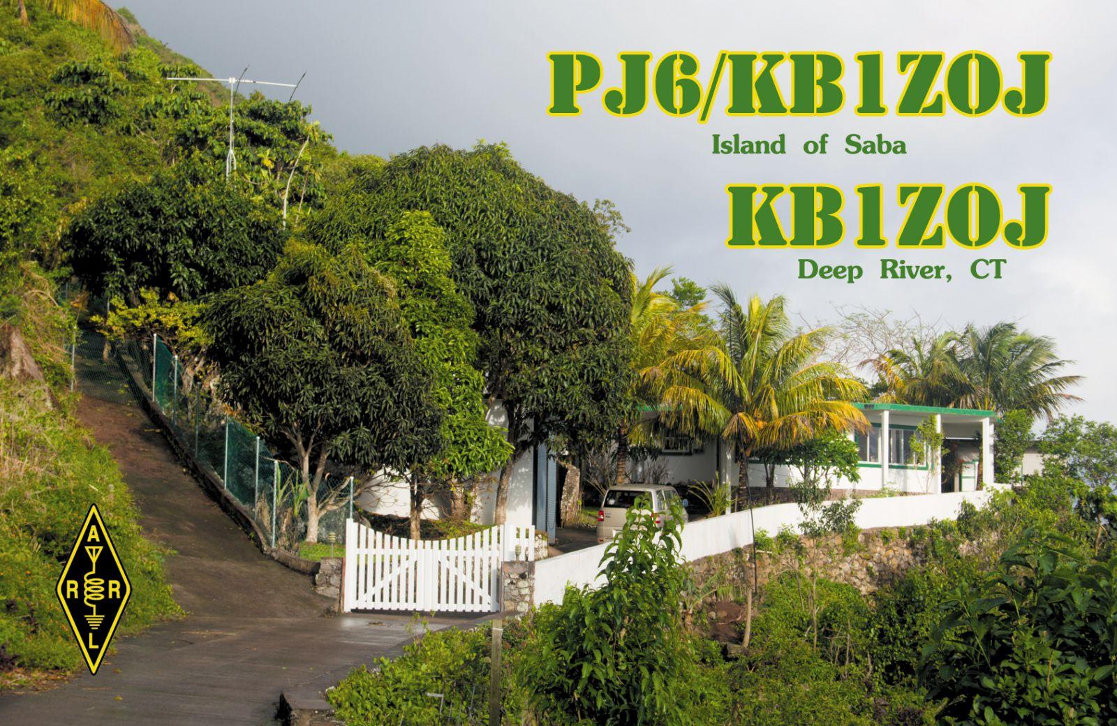 Saba Island PJ6/KB1ZOJ