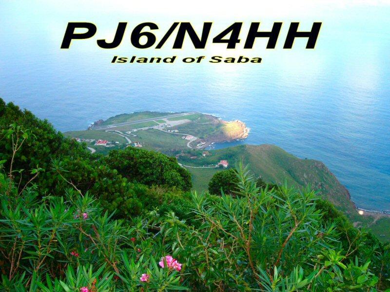 Остров Саба PJ6/N4HH