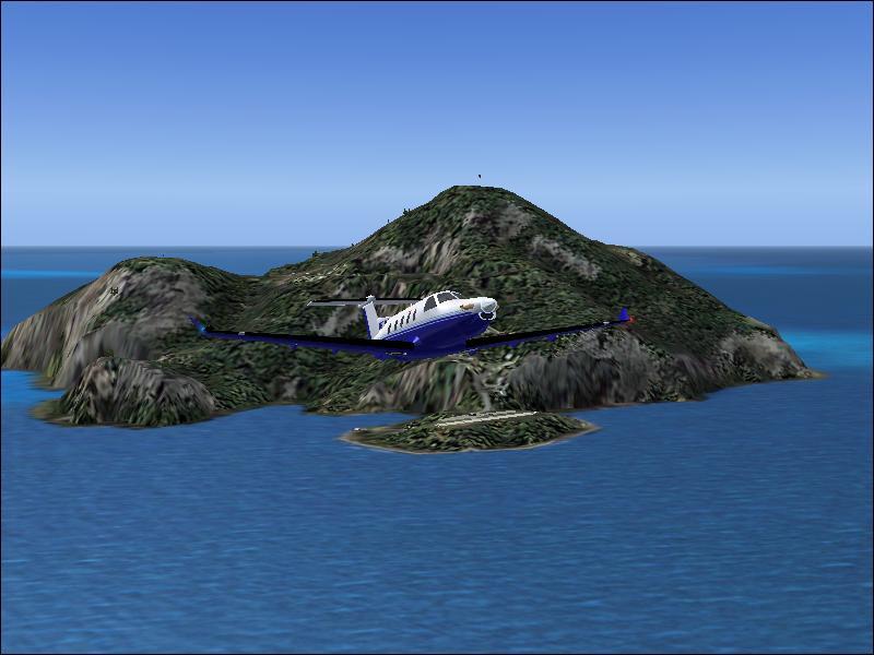 Остров Саба PJ6A Опасный Аэропорт