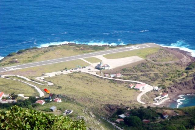 Saba Island PJ6D