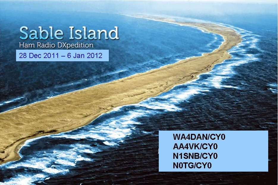 Sable Island DX Pedition 2011 2012