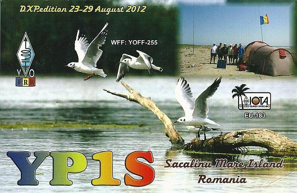 Sacalinu Mare Island YP1S QSL