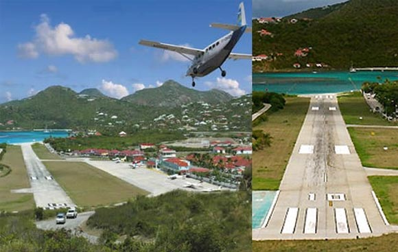 Saint Barhtelemy Island TO2D Airport DX News