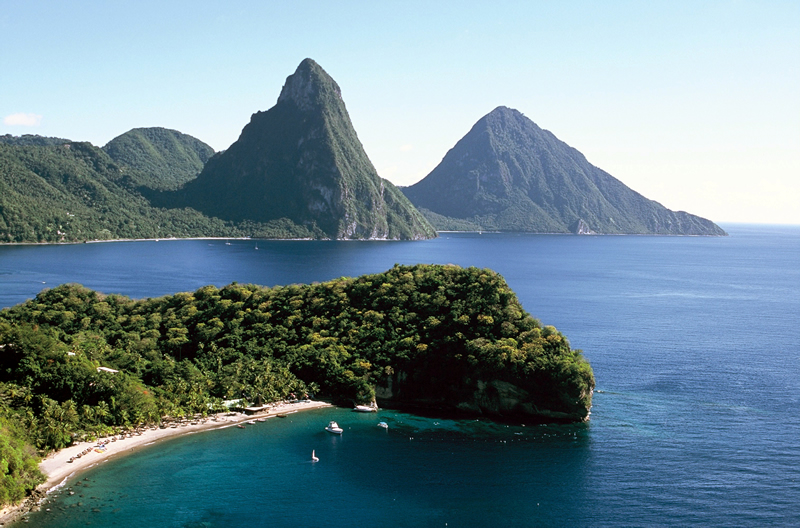 Saint Lucia Island DX News J6BP