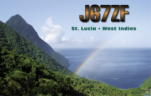 Saint Lucia Island J67ZF