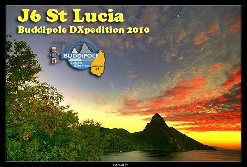 Saint Lucia Island J68UN