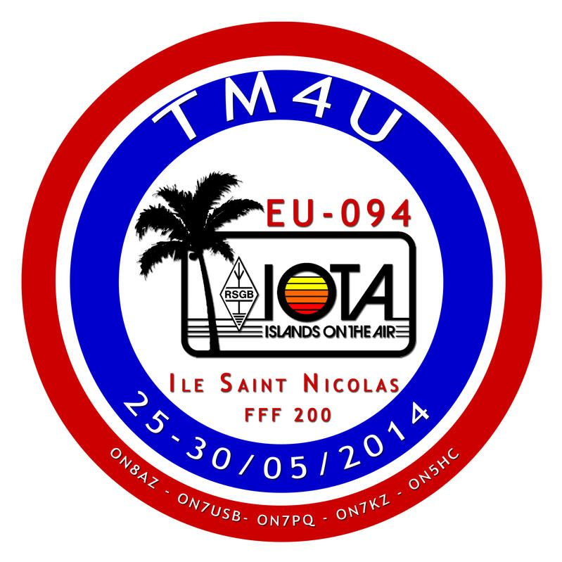 Ile Saint Nicolas Glenan Islands TM4U DX News