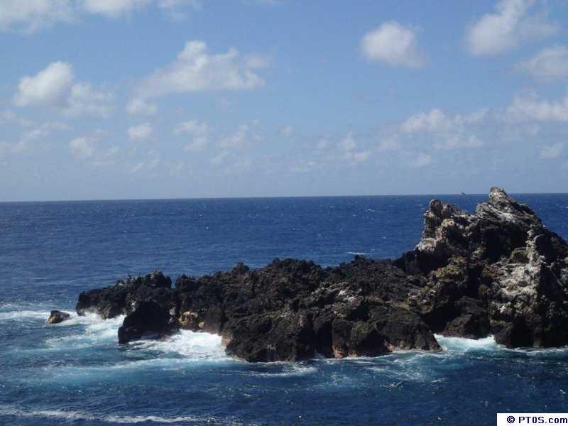 Острова Святого Петра и Святого Павла PT0S Камень Кабрал
